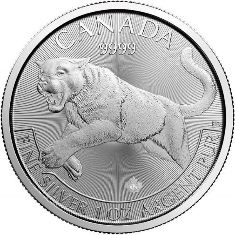 1 Unze Silber Canada Predator Puma 2016 Raubtiere 19 47