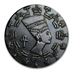 1/10 Oz Silber Monarch Precious Metals (Queen Nefertiti)