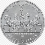 1/4 Unze Silber Germania Quadriga 2017  999,99