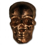 1 Kilo Copper Skull  MK Barz & Bullion 3 D Poured