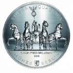 1 Kilo Silber Germania Quadriga   999,99