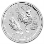 1 Kilo Silver Australian Lunar Year of the Rooster Coin (SII) 2017