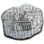 1 Oz Silber Monarch Precious Metals Relic Bar (Anubis)