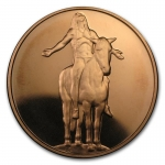 1 oz Copper Round - Appeal to the Great Spirit AVDP