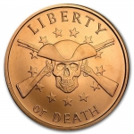 1 Unze Copper Shield Round 2017 Liberty or Death 999,99 AVDP