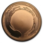 1 Unze Copper Shield Round 2017 MiniMintage (Enso) 999,99...