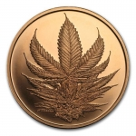 1 Unze Copper Shield Round 2017 MiniMintage (King Cannabis) 999,99 AVDP