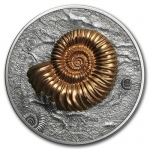 1  Unze Silber 2015 Mongolei Ammonite  Evolution of Life...