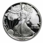 1 Unze Silber American Eagle 1988 USA Proof