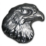 1 Unze Silber Atlantis Mint Silver Eagle Head 999,99