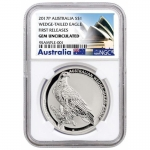 2017 Australien 1 oz Silver Eagle Wedge Tailed Silver...