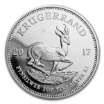 2017 South Africa 1 oz Silver Krugerrand 50 Years...
