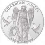 1 oz Silver Guardian Angel $1 Niue 999 Fine 2017