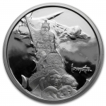 1 Unze Silber Round Frank Frazetta Silver Warrior Proof...