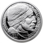 1 Unze Silber Round Hobo Nickel Replica (The Fisherman)...