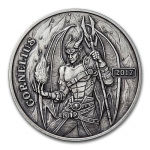 1 oz Silver Antique Round - Angels & Demons Series...