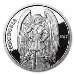 1 Unze Silber Round Steampunk Angels & Demons Series...