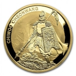 1 oz Gold Südkorea South Korea Chiwoo Cheonwang 2016...