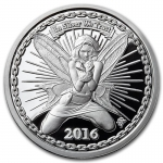 1 oz Silver Proof Round - Reddit Silverbug Alyx The Fairy