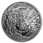 1 oz Silver Proof Round - Reddit Silverbug Ariel The Tree...