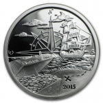 1 oz Silver Round - 2015 Finding Silverbug Island (Proof)