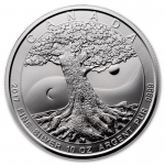 2017 Canada 10 oz Silver $50 Mint Tree of Life  BU