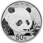 150 g Silber Panda 2018 China Proof mit Box
