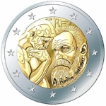 2 Euro France 2017 Auguste Rodin 2017 France unc.