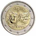 2 Euro Italien 2016 Plautus  Proof in Box