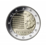 2 Euro Luxemburg 2013 Nationalhymne BU