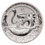 2 Unzen Silber Double High Relief  Myths & Legends...