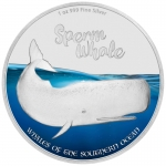 Whales Of The Southern Ocean - Sperm Whale Silver Coin Proof