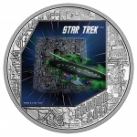 2017 Canada 1 Oz Silber 20 CAD Star Trek The Borg The...