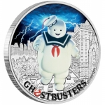 2017 Tuvalu 1 Oz Silber Ghostbusters - Stay Puft 2017 1...