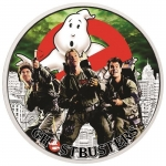 2017 Tuvalu 1 Oz Silber Ghostbusters - The Crew 2017 1...