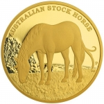 2017 $500 Stock Horse 5oz Gold Proof