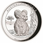 Australien 5 Unzen Silber Koala High Relief 2017 Proof