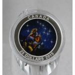 Kanada 25 Dollar 2015 Silber The Quest Star Charts Glow...