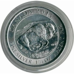 Capsule for 1 1/4 Oz (1,25) Silver Bison Series 38,4 mm