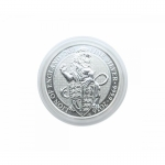 Capsule for Silver Queens Beast, 2 Oz Silver Niue Turtle, 39,0 mm Inside Height 6mm