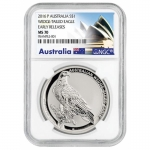 NGC MS-70 1 Unze Silber Australian Wedge Tailed Eagle...