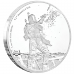 Niue Islands 2 $ - 1 Oz Silber Boba Fett  Star Wars 2017...