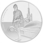 Niue Islands 2 $ - 1 Oz Silber Luke Skywalker Star Wars 2017 Proof