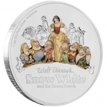 Niue $1 Snow White And The Seven Dwarfs 80th Anniversary...