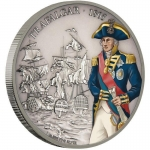 Niue $2 Battle that changed History - Battle of Trafalgar  Coin Proof 2017