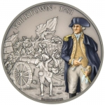 Niue $2 Battle that changed History - Battle of Yorktown Coin Proof 2017