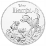 Niue Islands 2 Dollar Disney: 75 Jahre Bambi 1 Unze...