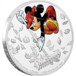 Niue Islands 2 Dollar Disney: Mickey - Whirlwind, 1 Unze...