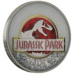 Niue Islands 2 Dollar Jurassic Park 1 Unze Silber Antique...