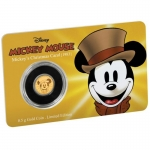 Niue Islands 2,5 Dollar Disney: Mickey - Christmas Carol,...